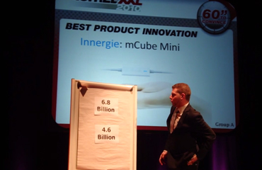 The mCube Mini 60 Sec. pitch at DISTREE XXL 2010