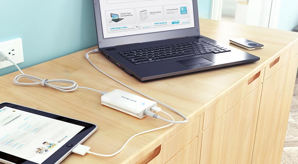 Mobile-Compatible USB output