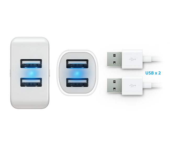 Double the USB Ports, Double the Efficiency