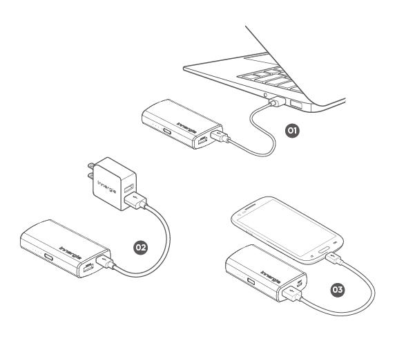 PocketCell V5200- Power Bank- Innergie