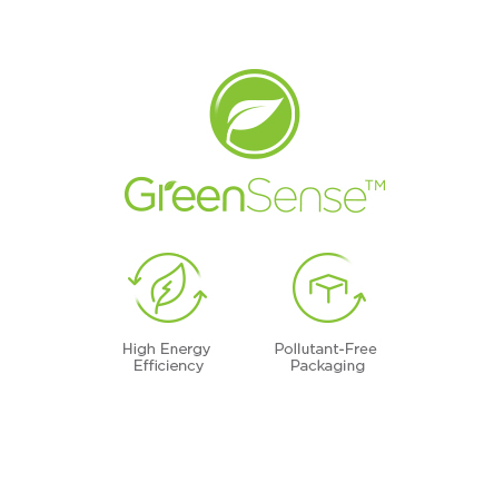 GreenSense™ promise to protect the environment