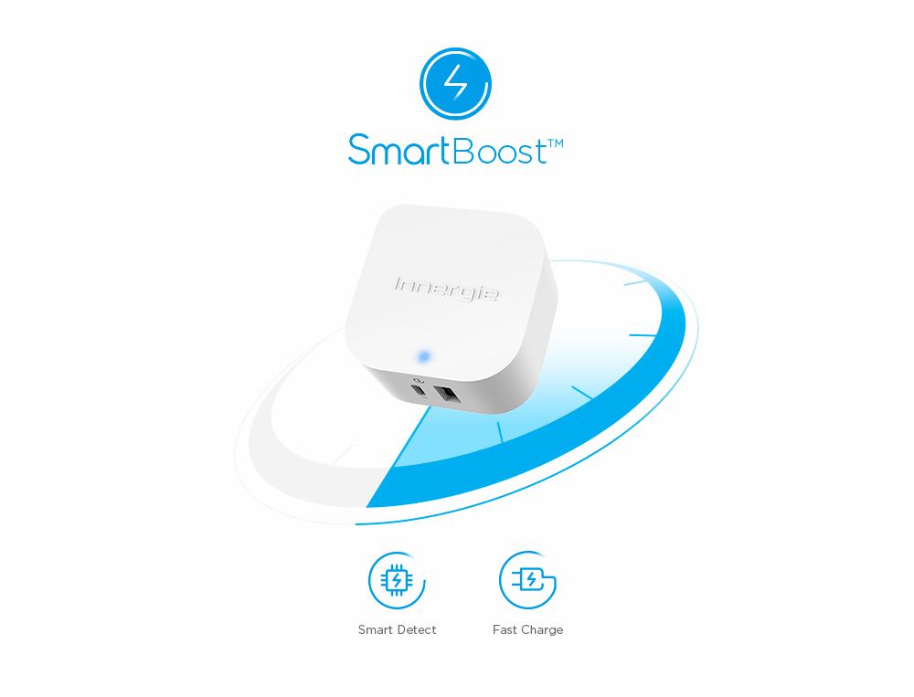 SmartBoost™ Rapid Charging Technology