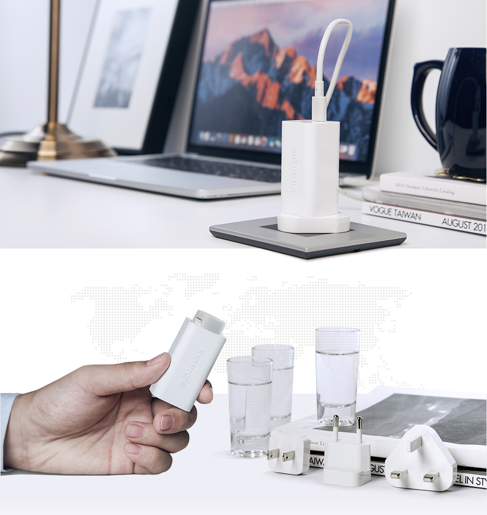 Travel plugs. Design to work everywhere